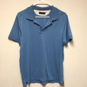 Banana Republic men's baby blue polo